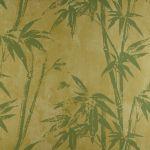 Papel de Parede Papel Bambu Verde Kapa KP0401A