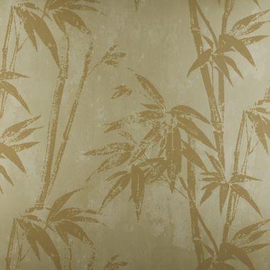 Papel de Parede Papel Bambu Bege Kapa KP0402A