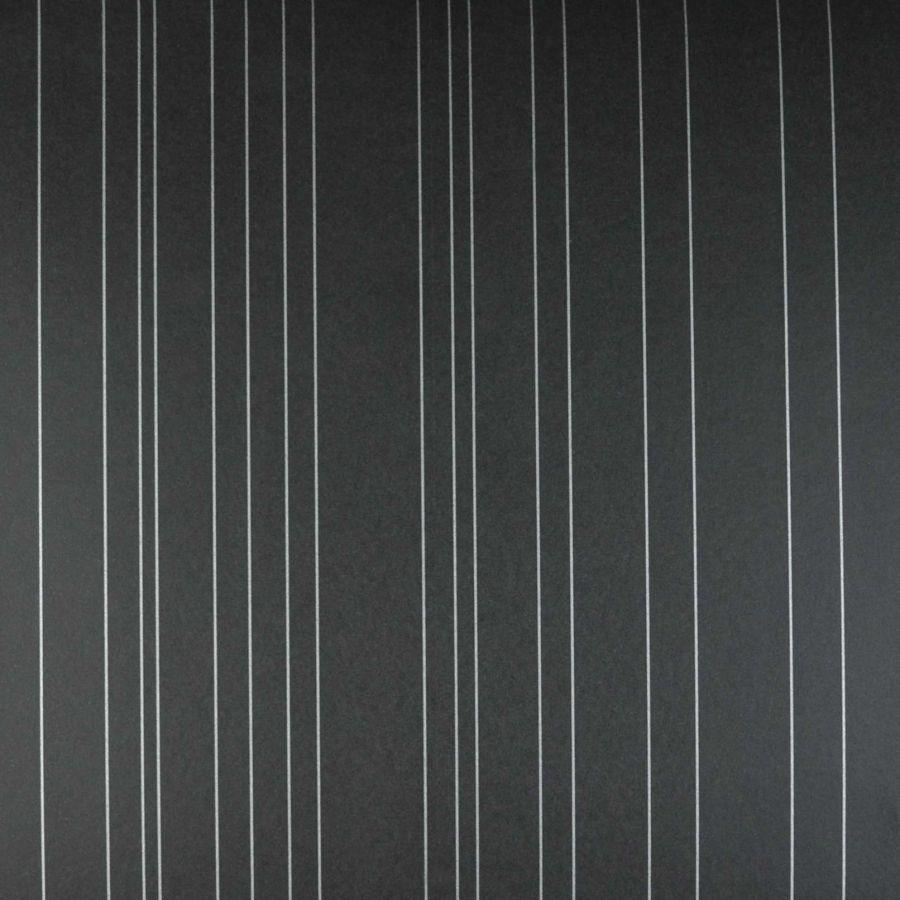 Papel de parede papel preto listrado prata fosco kapa - Papel pared negro ...