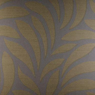 Papel de Parede PVC Folhas Ouro Velho Kapa KP0415A