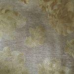 Papel de Parede PVC Micro Relevo Floral Dourado Kapa KP0405C